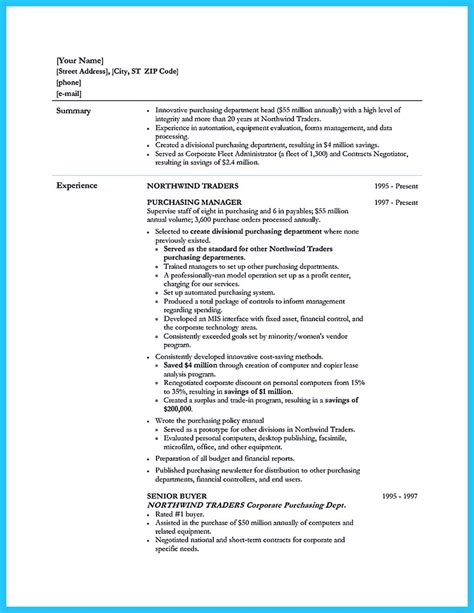 Associate Buyer Resume Objective by Buying Assistant Sle Resume