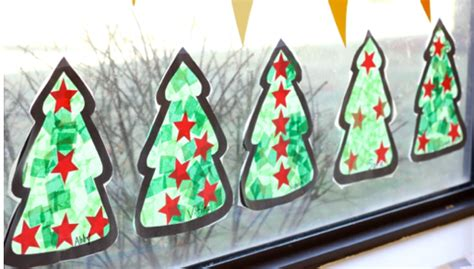 coloured lights christmas tree 20 easy christmas craft for kids bright star kids
