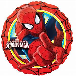 18-ultimate-spider-man-action-circle-foil-balloon-8560-p png