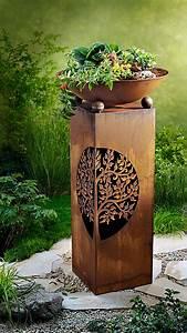 Schale Mit Ständer : pflanzs ule mit schale albero bei weltbild bestellen ~ Markanthonyermac.com Haus und Dekorationen