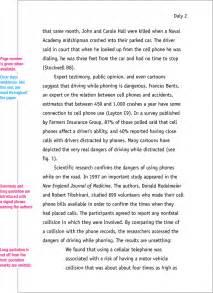 Mla Format Sample Paper 7th Edition Mlaformat Org