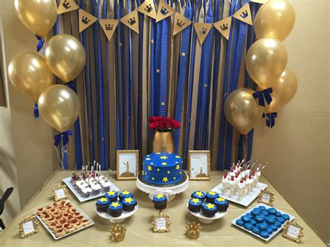 le petit prince gold navy baby shower sarah combs