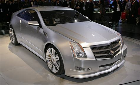 Cadillac Cts Coupe Concept by Cadillac Cts Coupe Concept