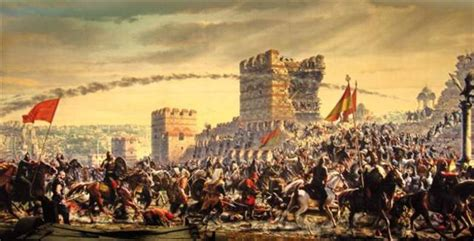 Ottomans Capture Constantinople by The Byzantine Empire Xander Timeline Timetoast Timelines
