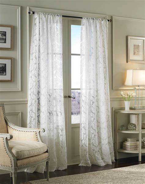 curtains for white living room modern house