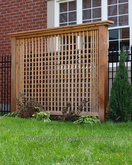 Backyard Privacy Screens Trellis - privacy trellis yards privacy trellis