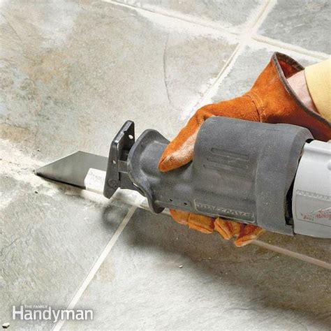 Removing Grout From Porcelain Tile by Tips For Removing Grout The Family Handyman