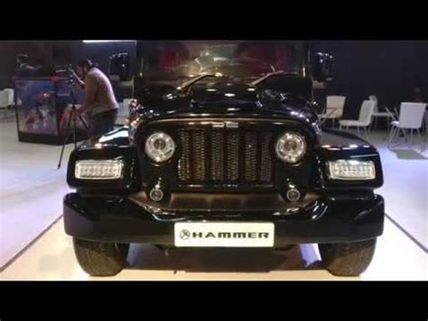 dc hammer modified thar costs 9 lakh over the donor vehicle auto expo 2018 shotononeplus