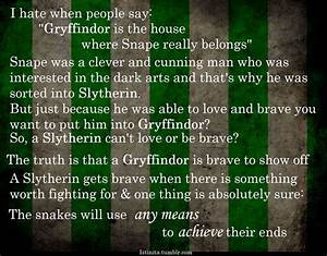 All Passion Spent (Snape was a Slytherin because he had ...