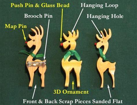 carving   reindeer ornament   scrollsaw