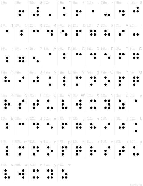 Braille Normal font | Braille alphabet, Alphabet, Coding