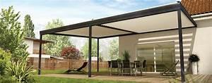 Veranda Rideau Pergola : pergola aluminium bioclimatique design v randa gustave rideau ~ Melissatoandfro.com Idées de Décoration