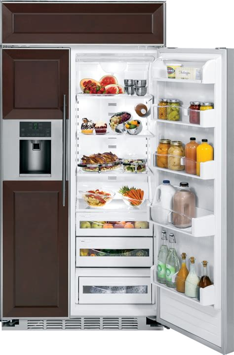 psbyphsv ge profile series  built  side  side refrigerator custom panels