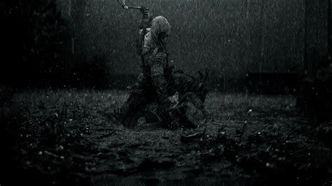 Dark Souls Hd Wallpaper Rain Fight Greyscale Connor Kenway Assassins Creed Iii Wallpapers