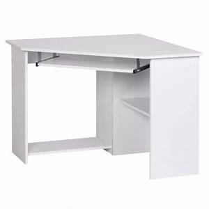 Bureau D Angle Design : bureau d 39 angle meuble informatique avec tablett achat vente bureau bureau d 39 angle meuble ~ Teatrodelosmanantiales.com Idées de Décoration