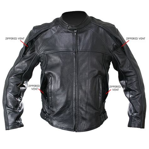 motorcycle jackets for men with armor cowhide black leather motorcycle jacket with level 3