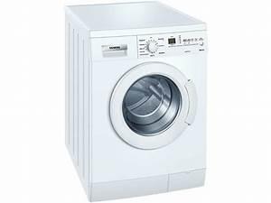 Unterbau Waschmaschine Mit Trockner : siemens wm14e346 stand waschmaschine wei unterbau ~ Michelbontemps.com Haus und Dekorationen