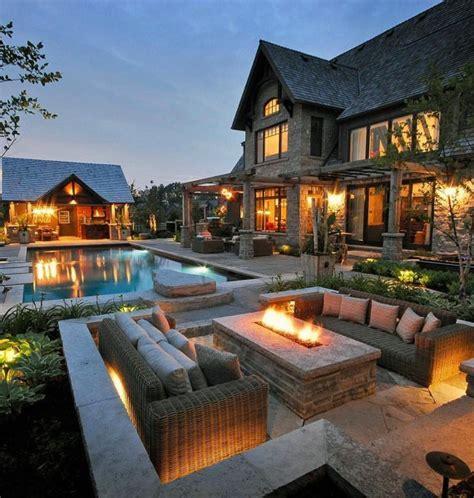 Backyard Patio Ideas by Top 60 Best Outdoor Patio Ideas Backyard Lounge Designs