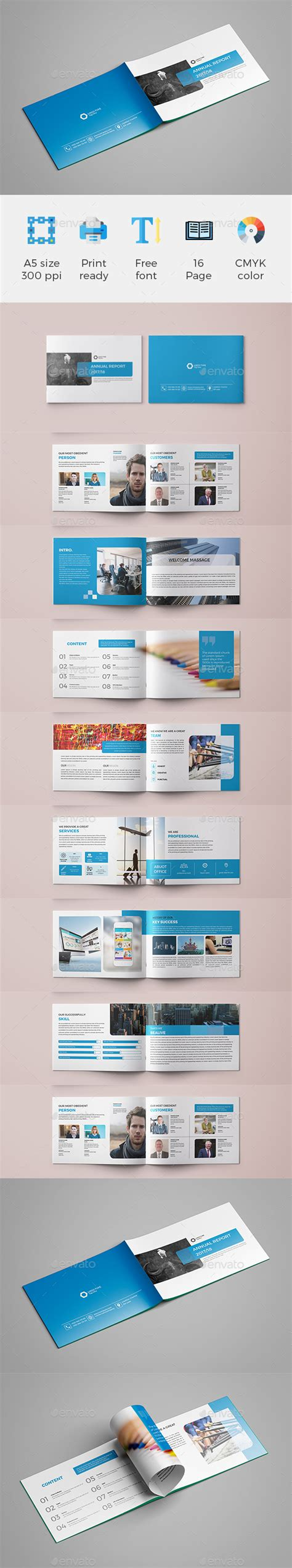 A5 Brochure Template by A5 Brochure By Hasantoufiqahamed Graphicriver