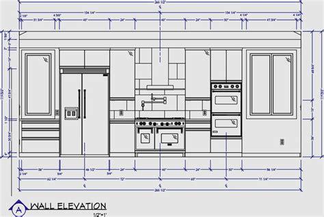 kitchen wall elevation  images kitchen elevation
