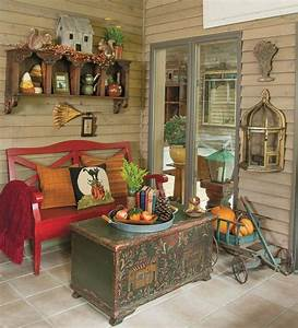 How to create a cohesive fall style in a three-season sunroom