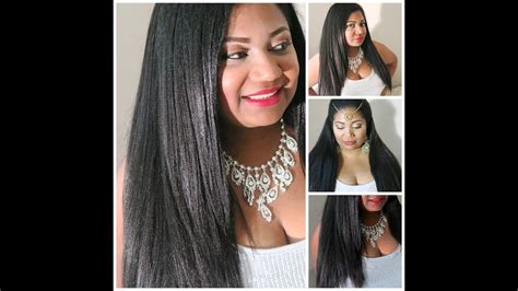 How To Get Natural Looking Straight Hair Crochet Braids