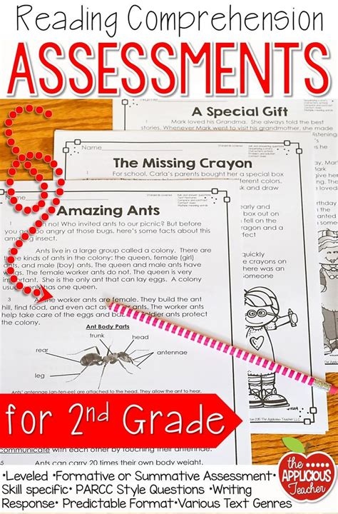 comprehension test 25 best ideas about 2nd grade reading comprehension on