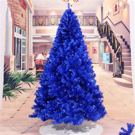 christmas new year decoration 2 4 m 240cm navy blue
