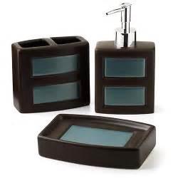 hometrends gridlock 3 piece bath accessories set walmart com