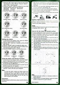 Radio Controlled Watch Instructions  U2013 Ekonomiskt Och