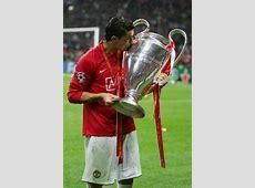 Cristiano Ronaldo in Manchester United v Chelsea UEFA