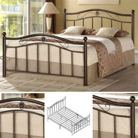 metal headboard and footboard metal bed frame bedroom furniture headboard footboard