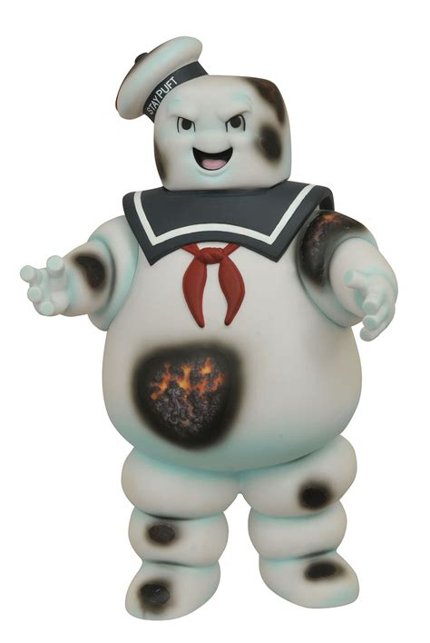 ghostbusters burnt stay puft marshmallow man bank shop