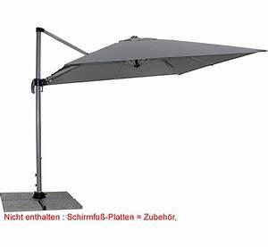 doppler ampelschirm ravenna ax 275x275cm sonnenschirm art With französischer balkon mit derby sonnenschirm ravenna