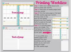 Mini Binder Planner Printables Free Printable Pages