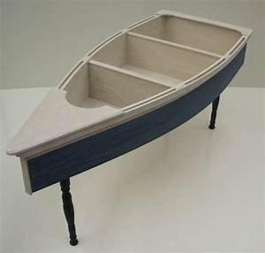 4 foot row boat nautical coffee table skiff schooner canoe With boats home furniture outlet