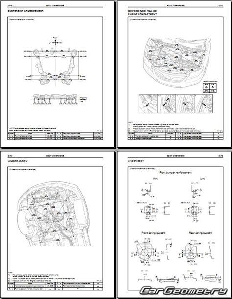 free service manuals online 2009 toyota camry hybrid seat position control контрольные размеры кузова toyota camry hybrid 2006 2009 ahv40 collision repair manual
