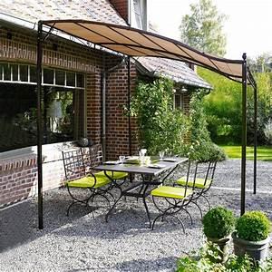 Pergola Metall Terrasse : pergola terrasse pour terrasse en bois ~ Sanjose-hotels-ca.com Haus und Dekorationen