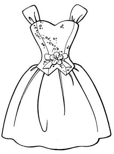 Manual para dibujar vestidos de asistentas y sirvientas como. COLOREAR DIBUJOS DE VESTIDOS