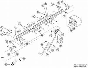 Genie Ac Screw Drive Rail Parts