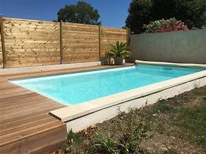 vente et pose d39une piscine coque polyester 6x3 avec With piscine provence polyester aubagne