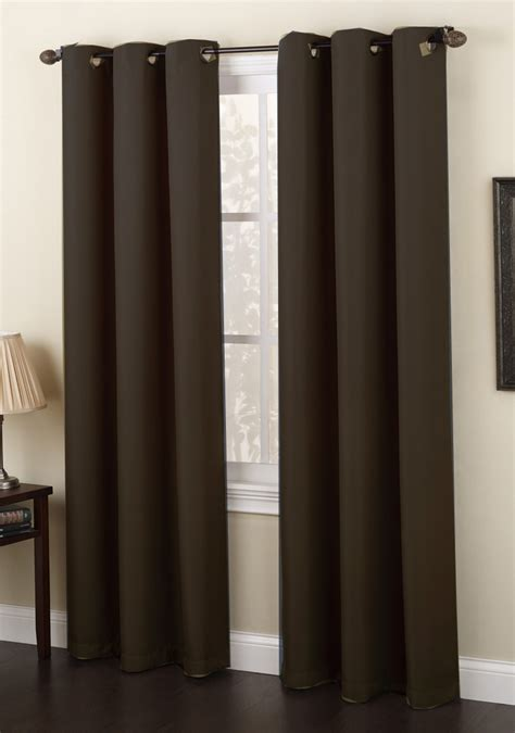 Grommet Curtains by Montego Grommet Panels Black Lichtenberg View All