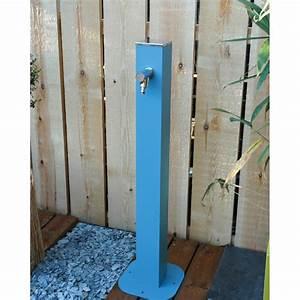 Robinet Extérieur Leroy Merlin : fontaine robinet en m tal bleu leroy merlin ~ Dailycaller-alerts.com Idées de Décoration