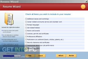 Winway Resume Free by Winway Resume Deluxe Pro 2019 Free