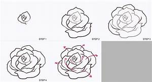 drawing a rose Realistic - Bing images | Drawing Board ...