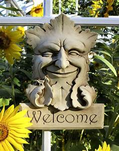 Garden Smile Welcome -- Carruth Studio: Waterville, OH