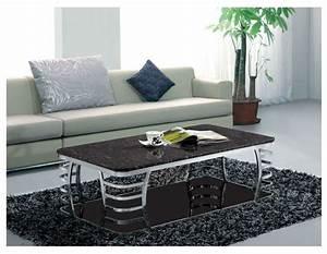 Table Basse Moderne : table basse en verre moderne ~ Preciouscoupons.com Idées de Décoration