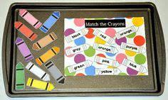 preschool table file folder games images