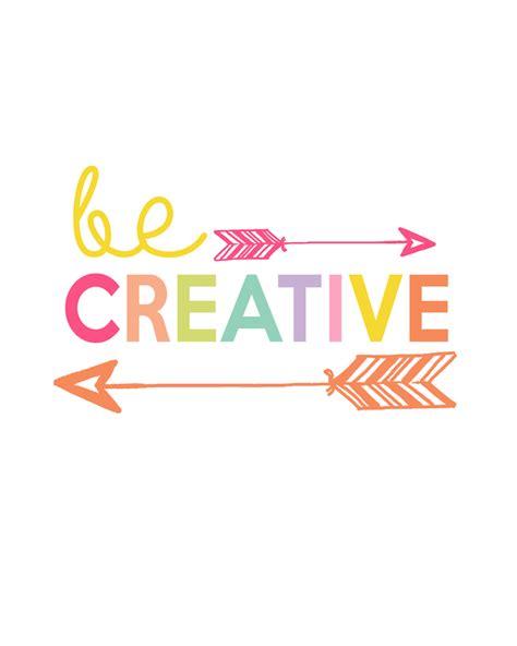 Be Creative Printable  Day 4 Kids Prints Series The