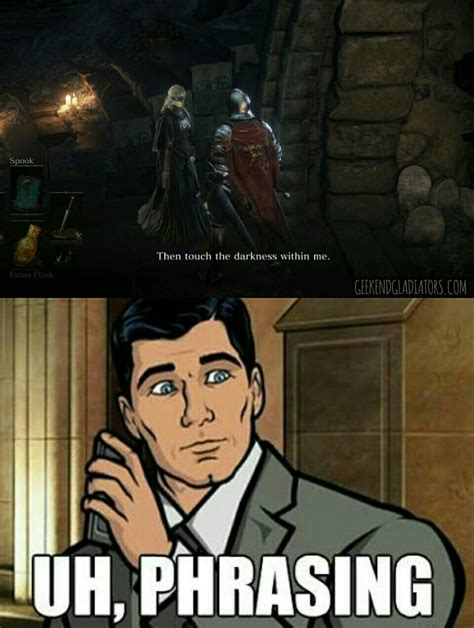 Funny Dark Memes - what i think of when the fire keeper from dark souls 3 says it latestgames pinterest best